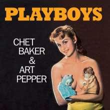 Chet Baker & Art Pepper: Playboys (180g) (Limited Edition) (Orange Vinyl), LP