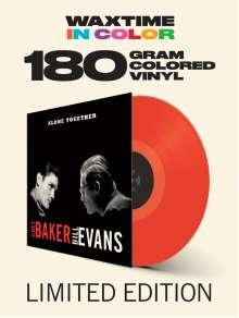 Chet Baker & Bill Evans: Alone Together (180g) (Limited-Edition) (Red Vinyl) (+1 Bonustrack), LP