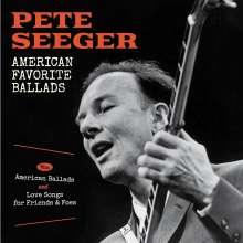 Pete Seeger: American Favorite Ballads / American Ballads / Love Songs, 2 CDs