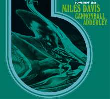 Miles Davis & Cannonball Adderley: Somethin' Else (+ 3 Bonus Tracks), CD