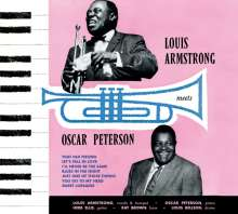 Louis Armstrong & Oscar Peterson: Louis Armstrong Meets Oscar Peterson (+ 6 Bonus Tracks), CD