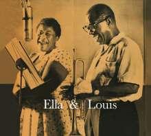 Louis Armstrong & Ella Fitzgerald: Ella & Louis (+8 Bonus Tracks), CD