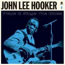John Lee Hooker: Plays & Sings The Blues (+ 2 Bonustracks) (180g) (Limited Edition), LP