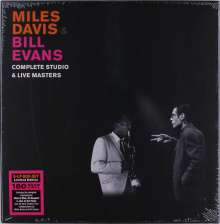 Miles Davis & Bill Evans: Complete Studio & Live Masters (180g) (Limited Handnumbered Edition) (Box Set), 5 LPs