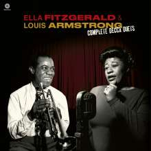 Louis Armstrong & Ella Fitzgerald: The Complete Decca Duets (180g) (Limited Edition) +3 Bonus Tracks, LP
