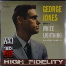 George Jones (1931-2013): Sings White Lightning & Other Favorites (remastered) (180g) (Limited-Edition), LP