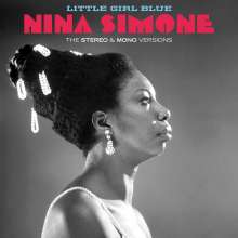 Nina Simone (1933-2003): Little Girl Blue: The Original Stereo & Mono Versions (remastered) (180g) Limited-Edition), 2 LPs