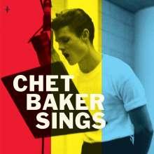 """Chet Baker (1929-1988): Chet Baker Sings (Reissue 1956) (180g) (Colored Vinyl), 1 LP und 1 Single 7"""""""