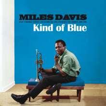 Miles Davis (1926-1991): Kind Of Blue (180g) (Limited Edition) (Translucent Blue Virgin Vinyl), LP