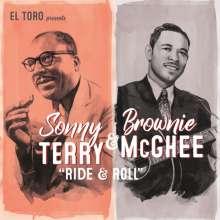 "Sonny Terry & Brownie McGhee: Ride & Roll EP, Single 7"""
