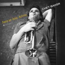 Chet Baker (1929-1988): Jazz At Ann Arbor (180g) (Limited-Edition), LP