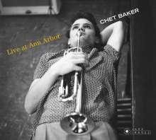 Chet Baker (1929-1988): Live At Ann Arbor (Jazz Images), CD
