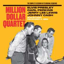 Million Dollar Quartet: The Complete Session In Its Original Sequence (Limited Edition), CD