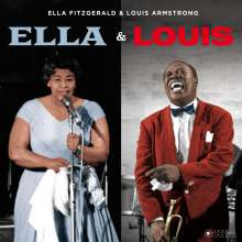 Louis Armstrong & Ella Fitzgerald: Ella & Louis (Jazz Images) (Limited Edition), CD