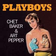 Chet Baker & Art Pepper: Playboys +7 (Limited-Editiion), CD