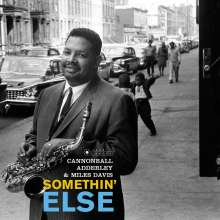 Miles Davis & Cannonball Adderley: Somethin' Else (180g) (Limited Edition) (William Claxton Collection) (+Bonustrack), LP