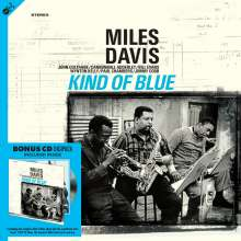 Miles Davis (1926-1991): Kind Of Blue (180g), 1 LP und 1 CD