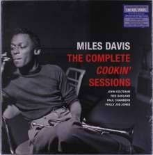 Miles Davis (1926-1991): The Complete Cookin' Sessions (180g) (Limited Edition Box Set), 4 LPs