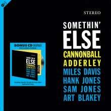 Cannonball Adderley (1928-1975): Somethin' Else (180g) +1 Bonus Track, 1 LP und 1 CD
