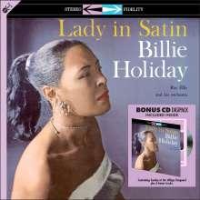 Billie Holiday (1915-1959): Lady In Satin (180g), 1 LP und 1 CD