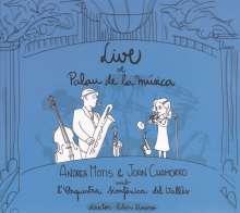 Joan Chamorro & Andrea Motis: Live At Palau De La Musica, CD