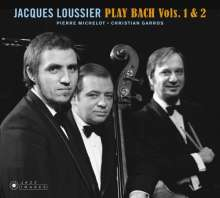 Jacques Loussier (1934-2019): Play Bach Vol.1 & 2 (Jazz Images), CD