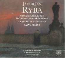 Jan Jakub Ryba (1765-1815): Missa Solemnis in C pro Festo Resurrectionis, CD