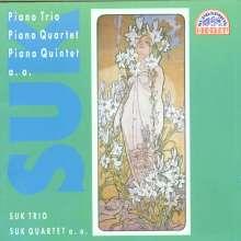 Josef Suk (1874-1935): Kammermusik Vol.2, CD