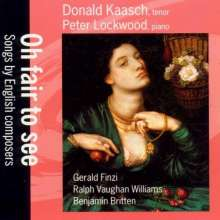 Donald Kaasch - Songs by English Composers, CD
