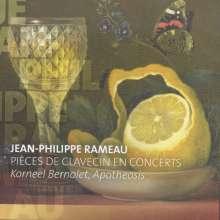 Jean Philippe Rameau (1683-1764): Pieces de Clavecin en Concerts Nr.1-5, CD