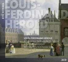 Louis Joseph Ferdinand Herold (1791-1833): Klavierkonzerte Nr.1-4, 2 CDs