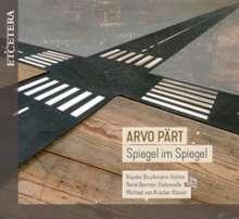 Arvo Pärt (geb. 1935): Spiegel im Spiegel für Cello & Klavier, CD