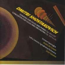 Dmitri Schostakowitsch (1906-1975): Cellokonzerte Nr.1 & 2, 2 CDs