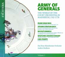 Army of Generals - The World of the Court Orchestra in Mannheim 1742-1778, CD