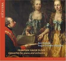 Frantisek Xaver Dussek (1731-1799): Klavierkonzerte in C,D,Es, CD