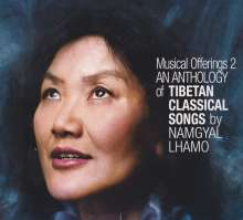 Anthology Of Tibetan Classical Songs.Musical Offe, CD