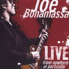 Joe Bonamassa: Live From Nowhere In Particular, 2 CDs