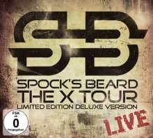 Spock's Beard: The X Tour-Live (Limited Deluxe Edition) (2CD + DVD), 2 CDs und 1 DVD