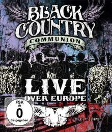 Black Country Communion: Live Over Europe, 2 DVDs