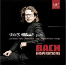 Hannes Minnaar - Bach Inspirations, CD