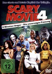 Scary Movie 4, DVD