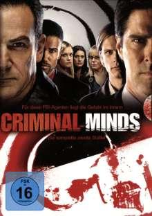 Criminal Minds Staffel 2, 6 DVDs