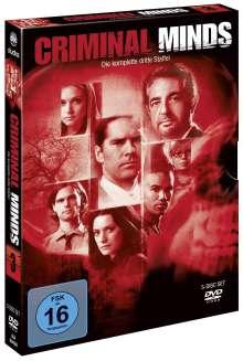 Criminal Minds Staffel 3, 5 DVDs