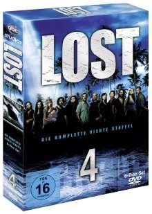 Lost Staffel 4, 6 DVDs