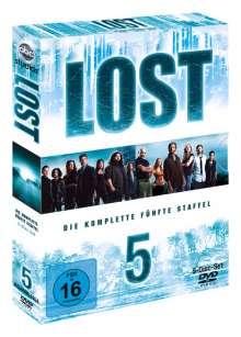 Lost Staffel 5, 5 DVDs