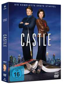 Castle Staffel 1, 3 DVDs