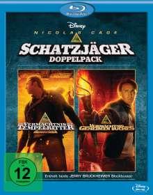 Das Vermächtnis der Tempelritter / Das Vermächtnis des geheimen Buches (Blu-ray), 2 Blu-ray Discs