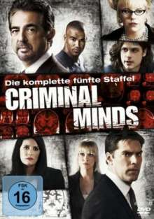 Criminal Minds Staffel 5, 6 DVDs