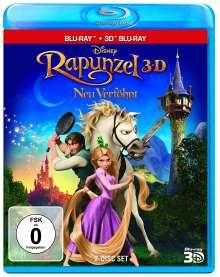 Rapunzel - Neu verföhnt (3D & 2D Blu-ray), Blu-ray Disc