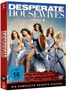Desperate Housewives Season 6, 6 DVDs